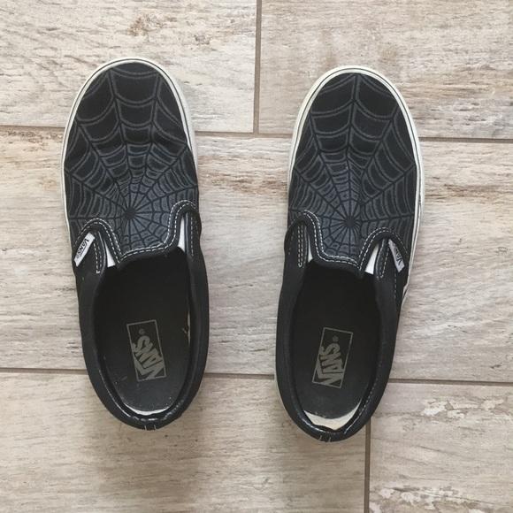 Vans Shoes - Black Vans Slip On